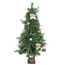 4ft Christmas Tree Walmart simple ideas 4ft pre lit christmas tree trees walmart com