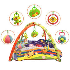 Anjojo Grow With Me Baby Activity Play Gym Mat Baby Toys