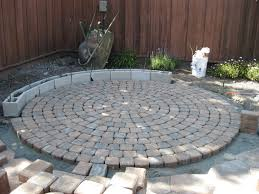 charming curved pavers home depot in the process of project