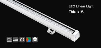 the new high power dmx waterproof led linear wall washer light m