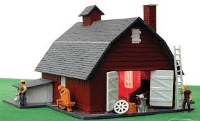 Mennonite Sheds Aylmer Ontario by Otter Valley Railroad Model Trains Aylmer Ontario Canada Ho