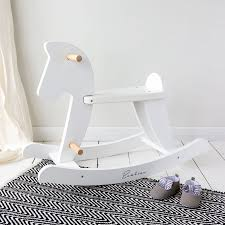 White Wooden Rocking Horse | Love Unique Home & Gifts Lobbyist Rocker For Kids Rocking Chair Kids Chairs From Pliet Personalized Rocking Chairs Childrens For Kids Patio Fniture Academy New Deal Alert Plutus Brands Mf1326 Chair White Mainstays Wood Adirondack Natural Walmartcom Brian Boggs Chairmakers Asheville Nc The History Of Recliner Home Decor Trend Apartment Therapy Hand Painted Long Island Ny Levo Beech Baby Bouncer Grey Charlie Crane Design I Collection Smallable Personalised Notonthehighstreetcom Nursery Makeover Spray Paint It Less Than 10