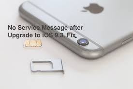 No Service on iPhone after Upgrade to iOS 9 3 Here s a Fix