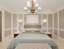 modernes klassisches schlafzimmer mit anrichte fernseher