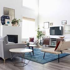 Living Room Design Western Decor With Contemporary Home