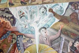 Famous American Mural Artists by Diego Rivera U0027s Mural On Display But Out Of View U2013 The Guardsman