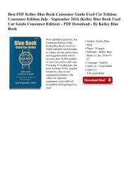 PDF FREE - Kelley-Blue-Book-Consumer- - Page 1 - Created With ...