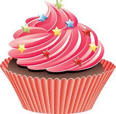 Vanilla Cupcake clipart pink cupcake 4