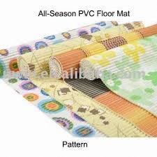 China Decoration Printed PVC Foam Plastic Floor Covering Roll