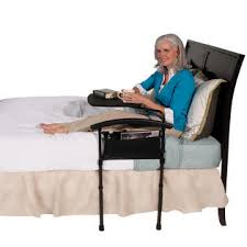 Stander Bed Rail by Stander Independence Bed Table 2 In 1 Overbed Table U0026 Bed Rail Combo