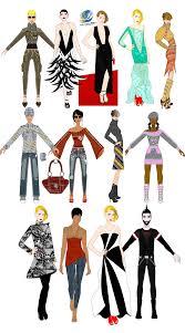 Sketch Clipart Fashion Design 13