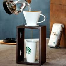 Tea Cups Coffee Maker Starbucks Mugs Gift Ideas Diy Brewing Woods Creative Machine Percolator