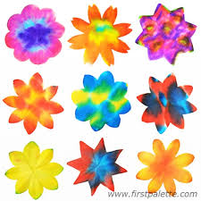 Step 7 Coffee Filter Flowers Craft