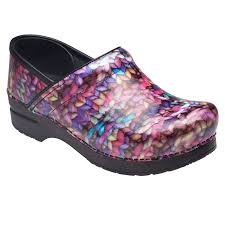 dansko women u0027s professional flower power patent clog price