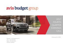 Avis Budget Group, Inc. 2017 Q4 - Results - Earnings Call Slides ... Grapple Trucksold St Sales Avis Car Rentals 3 Convient Locations Taylor Western Star Trucks Customer Testimonials Vintage Avis Rent A Car Store Dealership Advertising Sign Auto Truck Budget Group Wikipedia Enterprise Moving Truck Cargo Van And Pickup Rental Plusstruck Hire Bookings Reviews Used Dealership In Ogden Ut 84401 Concrete Pump For Sale Custom Putzmeister Pumps After The Storm Barrons
