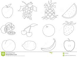 Printable Fruit Stunning Design Coloring Sheet For Fruits Salad Pages Best