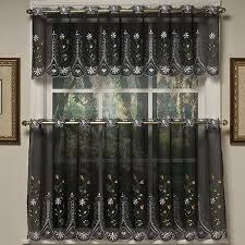 Boscovs Kitchen Curtains by Samantha Embroidered Tier Curtains Boscov U0027s