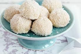 mandel kokos bällchen