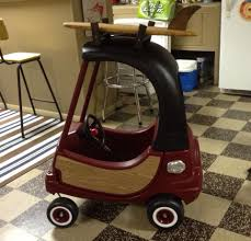 Refurbished Cozy Coupe - Woody Surf Mobile. #toddler #birthday ...