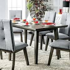 Mid Century Modern Dining Room Table Furniture Of Grey