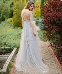discount light purple wedding party dresses keyhole back a line