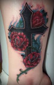 Arm Cross Tattoo Image Source Fabulousdesign