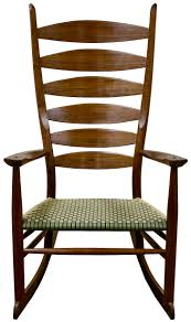 Custom Made Boggs Classic Ladderback Rocking Chair By Brian ...