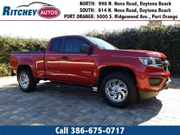 100 Used Trucks Melbourne Fl OneOwner 2016 Chevrolet Colorado 2WD WT In Daytona Beach FL