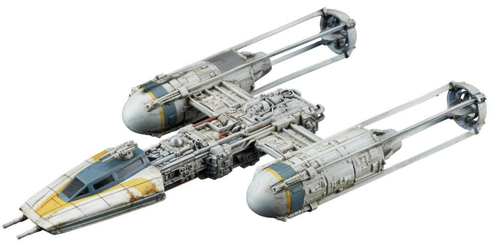 Bandai Star Wars Vehicle Model 005 Y-Wing Starfighter Model Kit