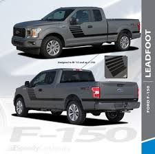 100 Ford Truck Decals F150 Bedside Vinyl Graphics LEAD FOOT 20152019