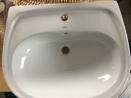 waschbecken waschtisch badezimmer bad weiß neu hersteller
