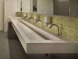 Small Trough Bathroom Sink With Two Faucets by Bathroom Sink Small Bathroom Basins Vanity Bowl Trough Sink With