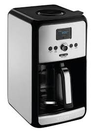 KRUPS EC314050 12 Cup Savoy Programmable Digital Stainless Steel Coffee Maker