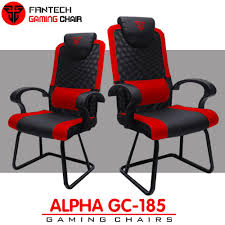ORIGINAL Fantech GC 185 ALPHA GAMING CHAIRS Top Of The Line Durable Simple  Yet Comfortable Gaming Chair, Suitable For Home User/internet Cafe Users To  ...
