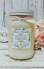 Pumpkin Waffle Candle by Pumpkin Pecan Waffles Scented Soy Candle Fall Scented Candles