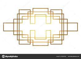 100 Art Deco Shape Isolated Art Deco Shape Design Stock Vector Stockgiu 290255250