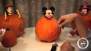 Pumpkin Push Ins by Disney U0027s Pumpkin Push Ins Of Mickey Mouse As Dracula Youtube