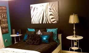 ApartmentsFoxy Zebra Print Turquoise And Brown Bedroom Ideas House Design Wedding Decorations Idea Foxy
