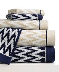 Blue Chevron Bathroom Set by Bianca Bath Towels Rhythm U0026 Blue Collection Bath Towels Bed