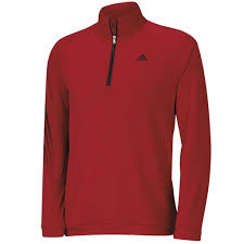 sale adidas golf 3 stripes half zip pullover top mens cover up