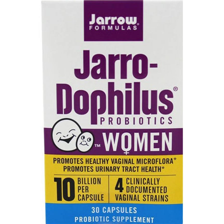 Jarrow Formulas Jarro-Dophilus Probiotics Supplement - 30 Capsules