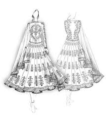 Indian Fashion Design Sketches
