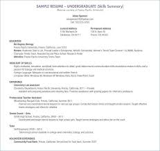Sample Resume For Highschool Graduate With Little Experience A Student Students No
