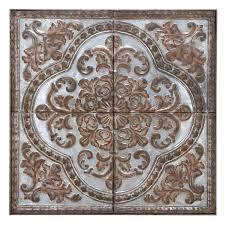 mistana mosaic tile metal wall d礬cor reviews wayfair
