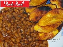 Red RedRed Plantain And Beans Ghana Food Drink