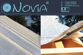 Kent Based Building Membrane Specialist Novia Has Launched Aluthermo RoofReflex A Unique Insulated Breathable Underlay Solution For Use Within Roof And