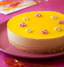 gâteau d anniversaire au citron comme un bavarois les