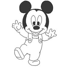 The Young Mickey Mouse Coloring Sheets