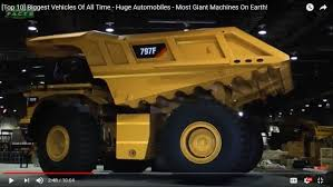 100 Biggest Truck Ever Top 10 Vehicles Most Giant Machines On Earth