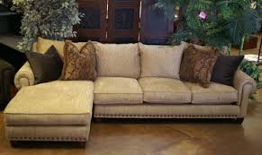 Leather Sectional Living Room Ideas by Living Room Leather Sectional Decoration In Brown Leather